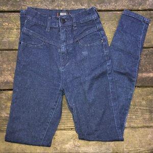 BDG dark blue skinny jeans urban outfitters